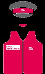 SNCF Assistance - Gilets rouges