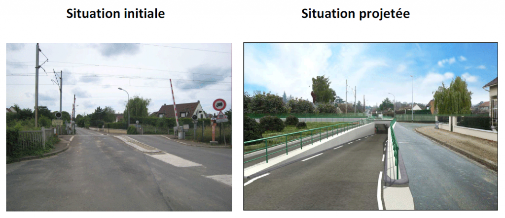 Travaux PN Vernouillet Verneuil - projet