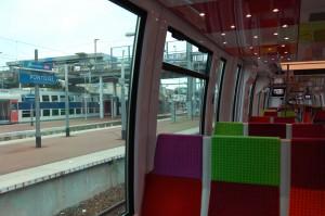 Rame Francilien en gare de Pontoise