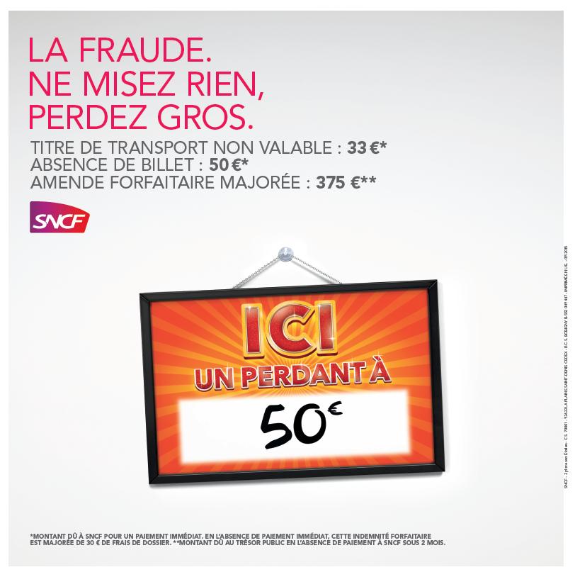 Les chiffres sont éloquents en Ile de France   la fraude coûte 63 M€ à SNCF  Transilien chaque année, avec un taux de fraude estimé à 7,5%. aec454335b0