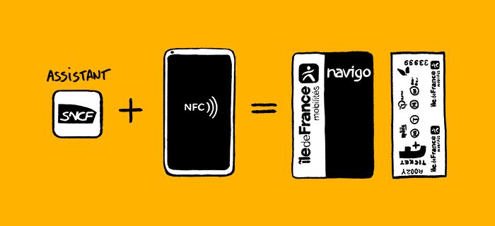 rechargement NFC