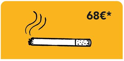 incivilités tabac